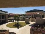 Aged Care - Karri Lodge, Courtyard